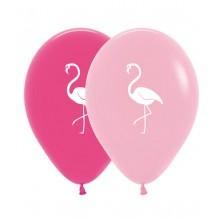 Latex Balloons - Printed - Flamingo