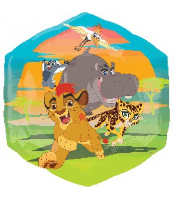 Foil Balloons - Cartoon Characters - Lion Guard Super Shape