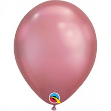 Latex Balloons - Chrome - Mauve