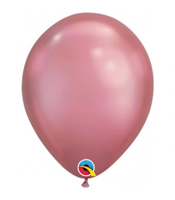 Latex Balloons - Chrome - Mauve