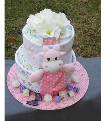Butterfly Princess Nappy Cake