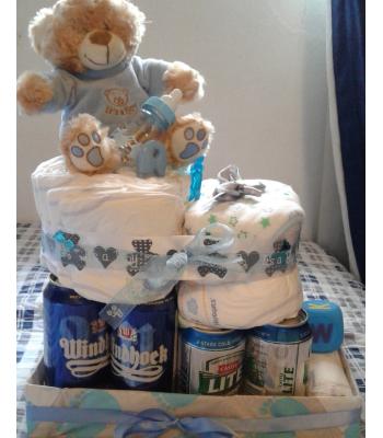 Nappy Party Nappy Cake