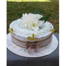 Elegant Nappy Cake
