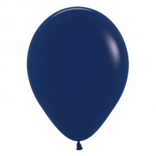 Latex Balloon - Standard - Navy Blue