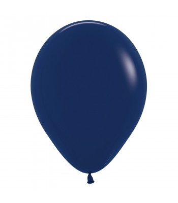 Latex Balloon - Standard - Navy Blue
