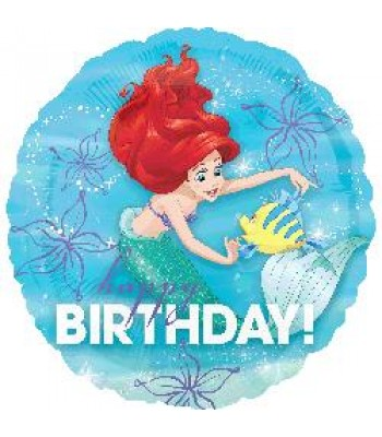 Foil Balloons - Children Birthday - Ariel Dream Big Happy Birthday