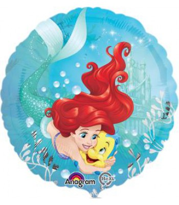 Foil Balloons - Cartoon Characters - Ariel And Flounder