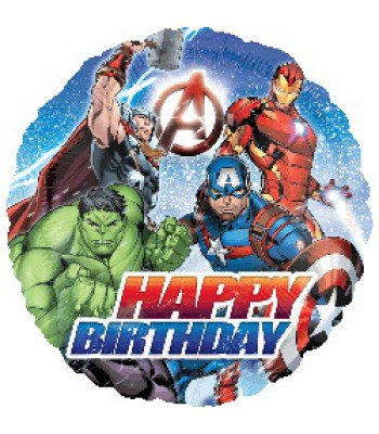 Foil Balloons - Children Birthday - Avengers Animated Birthday