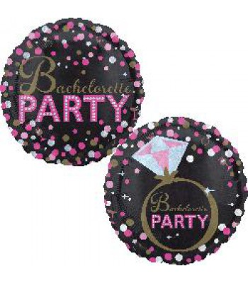 Foil Balloons - Special Message - Bachelorette Party Ring