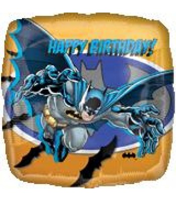 Foil Balloons - Children Birthday - Batman Happy Birthday