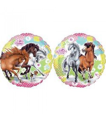 Foil Balloons - Cartoon Characters - Horses Playing