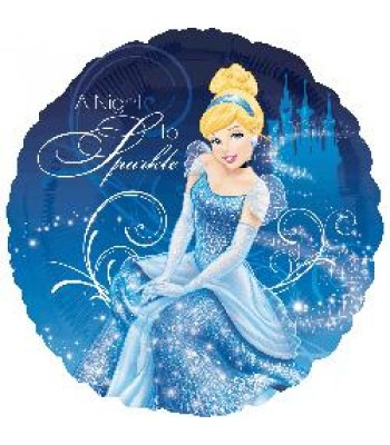 Foil Balloons - Cartoon Characters - Cinderella