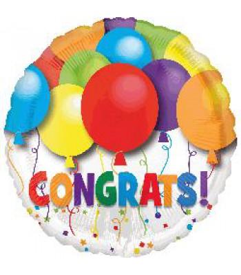 Foil Balloons - Special Message - Congrats