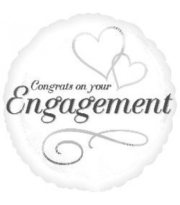 Foil Balloons - Special Message - Engagement