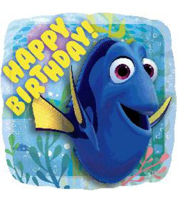 Foil Balloons - Children Birthday - Finding Dory Happy Bday