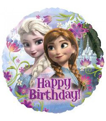 Foil Balloons - Children Birthday - Frozen Happy Birthday