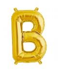 Gold Letter Foil Balloons