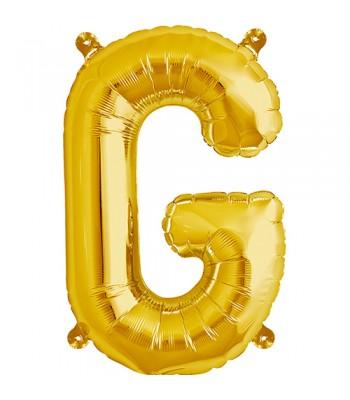 Foil Balloons - Letters - G - Gold