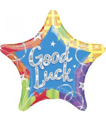 Foil Balloons - Special Message - Good Luck