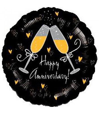Foil Balloons - Special Message - Happy Anniversary