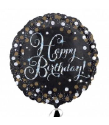 Foil Balloons - Birthday - Holo Sparkling Birthday