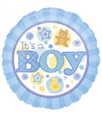 Foil Balloons - Baby Shower - Its a Boy