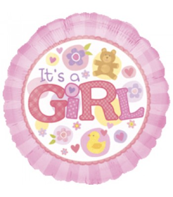 Foil Balloons - Baby Shower - It's a Girl