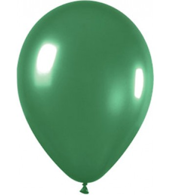 Latex Balloons - Metallic - Dark Green