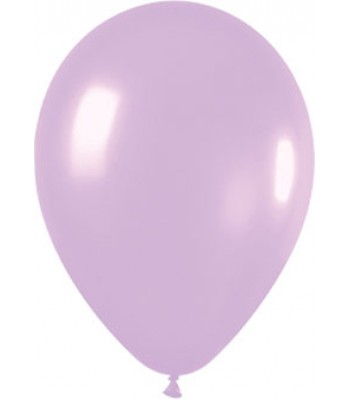 Latex Balloons - Metallic - Lilac