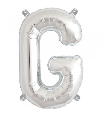 Foil Balloons - Letters - G - Silver