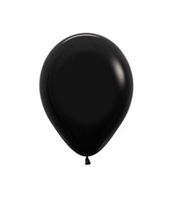 Latex Balloons - Standard - Black