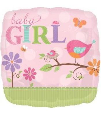 Foil Balloons - Baby Shower - Tweet Baby Girl