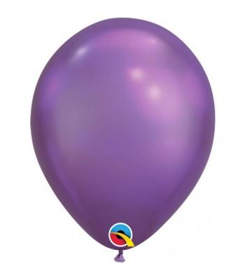 Latex Balloons - Chrome - Purple