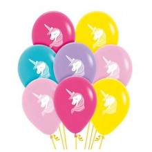 Latex Balloons - Printed - Unicorn
