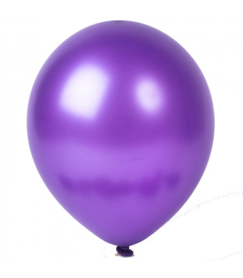 Latex Balloons - Metallic - Violet